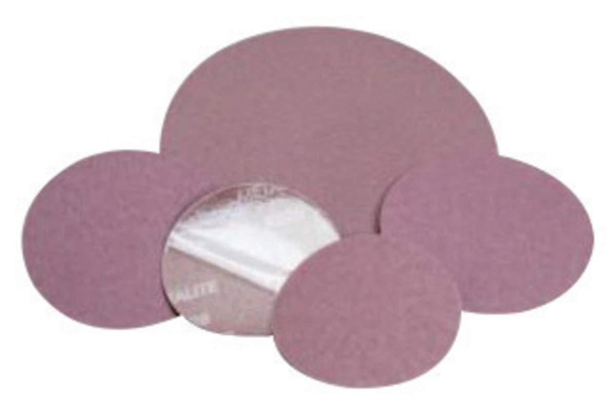 Standard Abrasives 5'' 80 Grit Aluminum Oxide PSA Disc - 500 Each/Case