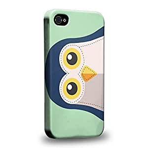 Diy iphone 5 5s case The most popular Art Animals Penguin Patches Protective Snap-on Hard Back Case Cover for Apple iPhone 5 5s