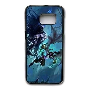 Wunatin Hard Case ,Samsung Galaxy S7 Edge Cell Phone Case Black World of Warcraft-Illidan Stormrage [with Free Touch Stylus Pen] BA-0755852