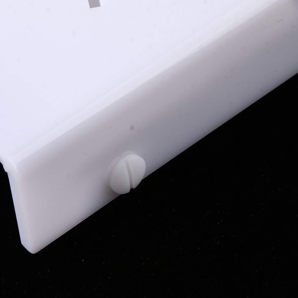 SM SunniMix 1 Palitos Pc Soporte de Palitos 1 Helado Pantalla de 24 Hoyos Adornos para Fiesta Atractiva Elegante - Blanco 17bce0