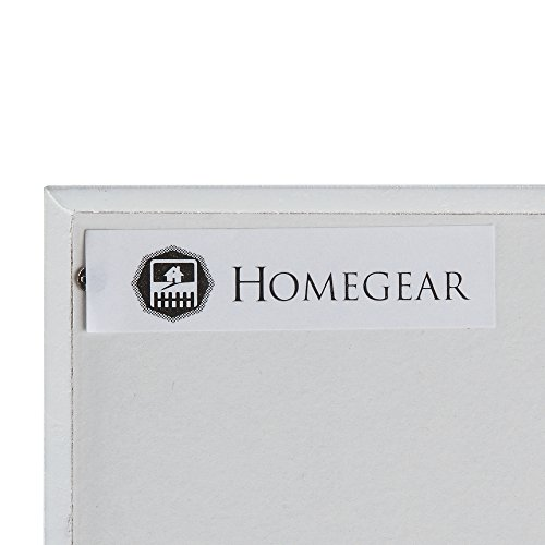 Homegear Modern Door/Wall Mounted Mirrored Jewelry Cabinet Organizer Storage White by Homegear (Image #5)
