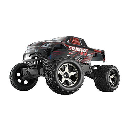 Traxxas 67086-1 Stampede 4X4 VXL: Monster Truck, Ready-to-Race (1/10 Scale), Colors May...