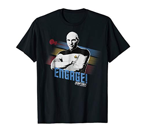 Captain Picard Engage Graphic T-Shirt ()