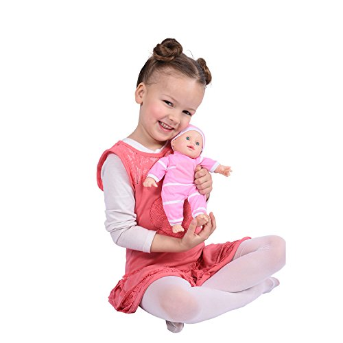 "11 inch Soft Body Doll in Gift Box - 11"" Baby Doll (Caucasian)"