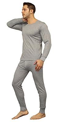Moet Fashion Men's Soft Cotton Thermal Underwear Long Johns Sets