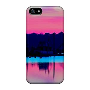 Brand New 5/5s Defender Case For Iphone (pink Sky)