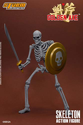 Storm Collectibles 1/12 Skeleton Soldier 2 Pack Golden Ax