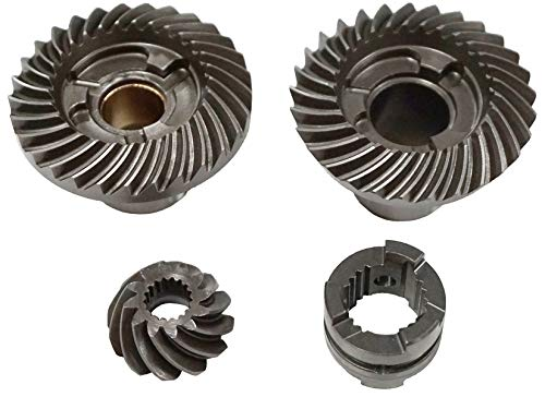 Lower Unit Gear Set - Johnson/Evinrude 1989-2005 40-50hp Outboard - GP-8150-4 - OEM 397627, 332489, 332491