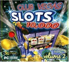 BRAND NEW Selectsoft Games Club Vegas 10,000 Slots Volume 2 Easy Navigation Detailed Pay Tables