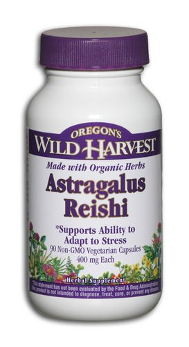 Oregon's Wild Harvest Astragalus and Reishi