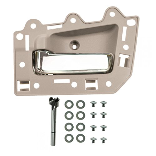 Front Inside Beige & Chrome Door Handle Kit Driver Left LH for Grand Cherokee