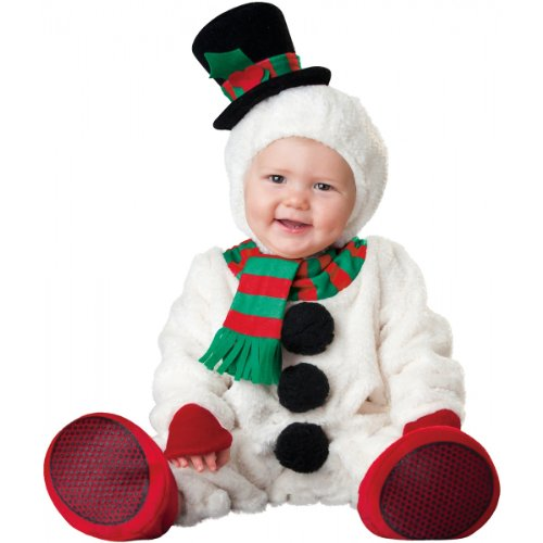 Baby Holloween Costumes (Silly Snowman Baby Infant Costume - Infant Large)
