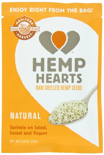 Manitoba Harvest Hemp Seed Nut - Manitoba Harvest Hemp Hearts Raw Shelled Hemp Seeds, 12 Single Serve Packets