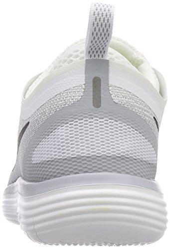 Nike Mens Fria Rn Avstånd 2 Löparskor Vit / Svart-ren Platina