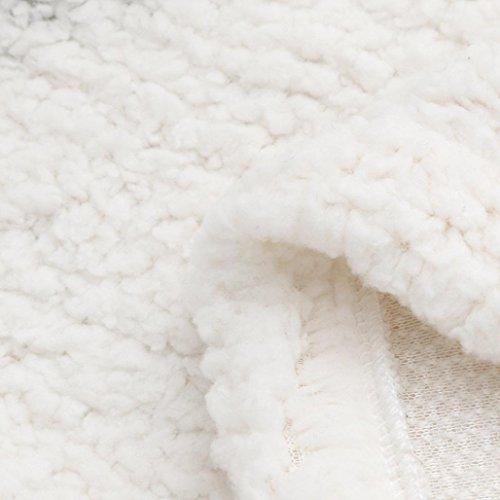 Faux up Fur Outwear Coat LHWY Jacket Zip Hoodies Outwear Womens Warm Winter Sweater Casual Vest White Sherpa nUqUT8A7