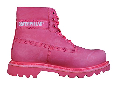 Womens Colorado Boots Caterpillar Pink Leather 8Fw75wTqx