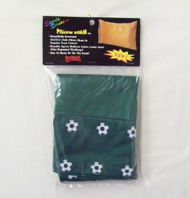 Sublimation Specialties Soccer Pillow Sham (Hunter)