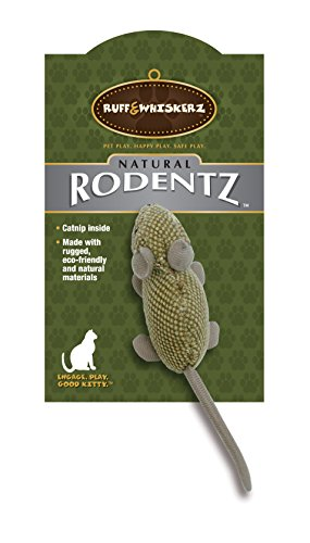 Ruff & Whiskerz Natural Rodentz Catnip Cat -