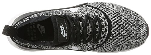 Flyknit White Ultra NIKE Black Femme Noir Baskets Max Air Thea BgqFv7