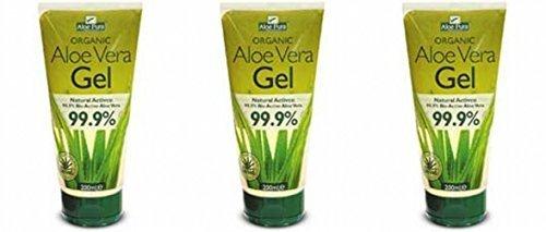 (3 PACK) - Aloe Pura - Aloe Vera Gel | 200ml | 3 PACK BUNDLE