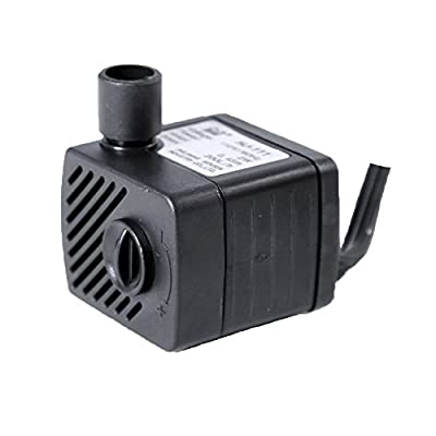 SunSun HJ-111 50 GPH Fountain Water Hydroponic Submersible Pump for Aquarium Fish Tank