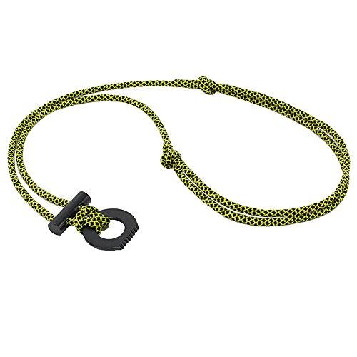 Flint Fire Starter Necklace: PSKOOK Paracord Fire Starter Magnesium Necklace Outdoor