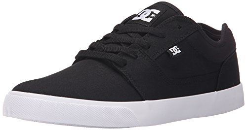 DC Men's Tonik TX Skateboarding Shoe, Black, 11 D US
