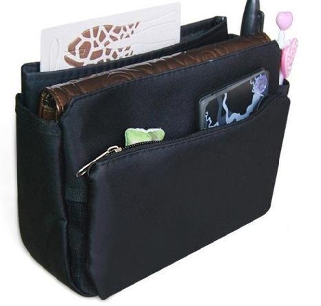 Periea Handbag Organizer, Insert, Liner 9 Pockets - Tegan