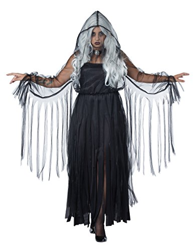 California Costumes Women's Vengeful Spirit Plus Size Costume, Black -