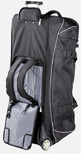 XXL-Rollenreisetasche+Rucksack 96cm/145Liter (DERMATA3457)