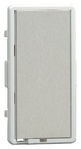 Leviton TTKIT-WS, Color Change Kit For True Touch Dimmer, White Frame-Silver Touch Plate (Color Frame Leviton)