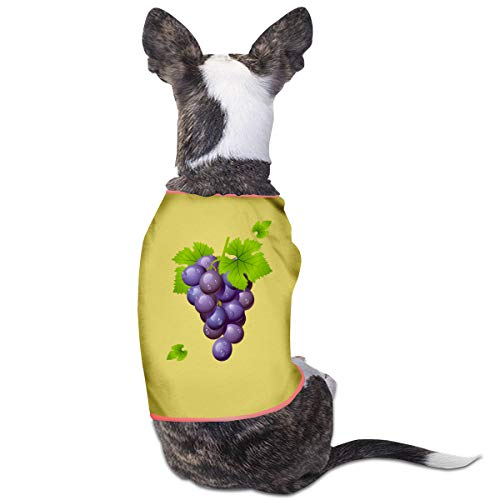 Jmirelife Puppy Dogs Shirts Costume Pets Clothing Grape Small Dog Clothes Vest]()