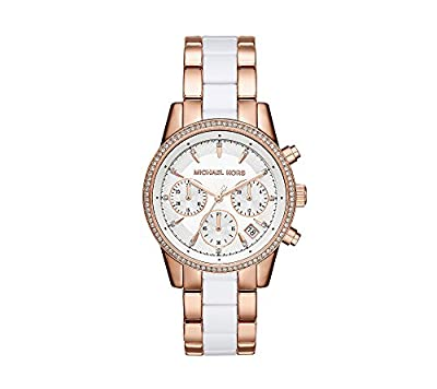 Michael Kors Women's Ritz Two-Tone Chronograph Watch