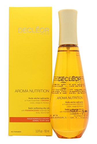 Satin Body Oil (Decleor Aroma Unisex Nutrition Satin Softening Dry Oil,3.3 Oz)