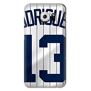 S6 Edge Case,MLB-New York Yankees Samsung Galaxy S6 Hard Case,Fashion Samsung Cell Accessories by runtopwell