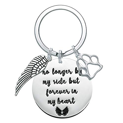 Pet Loss Gifts for Dog Lover - Dogs Memorial Keychain Jewelry Sympathy Condolence Loss of Dog Gift