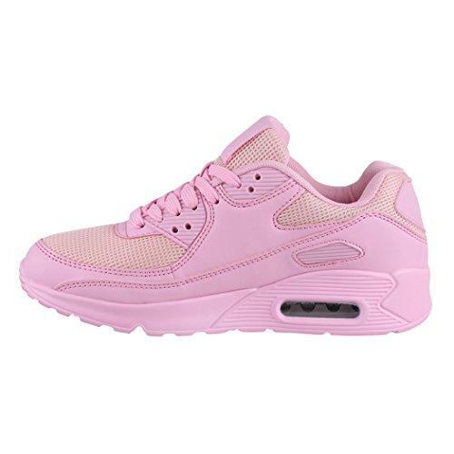 Hommes Et Rangers De Pink Flair Baskets Sport Chaussures Semelle Basic Profil Course Femmes aER6nq4n5