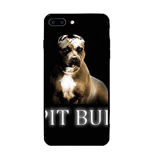 Cool Pitbull Printed iPhone 7/8 Plus Cover Anti-Fingerprint Hard PC Compatible for iPhone 7/8 Plus Case 5.5