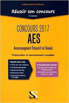 Book Réussir son concours AES : Accompagnant Educatif et Social