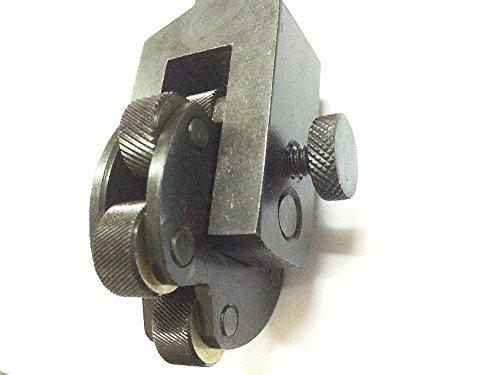 New 6 Knurls Rotating Head Knurling Tool -Multi Knurl Pitch Design Coarse Medium Fine Diamonds For Lathe Tool Holder by Global Tools (Image #2)
