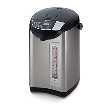 Image of Tiger PDU-A50U-K Electric Water Boiler and Warmer, Stainless Black, 5.0-Liter Home and Kitchen