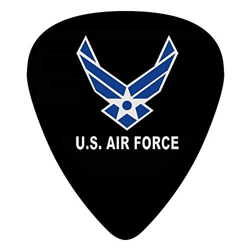 US Air Force Wings Logo Guitar Picks Personalized Fashion Celluloid Plectrums 12-Pack