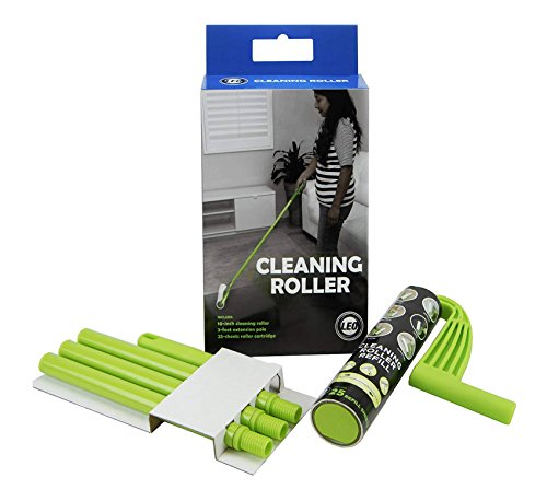 Leo Cleaning Roller with Adjustable Long Handle