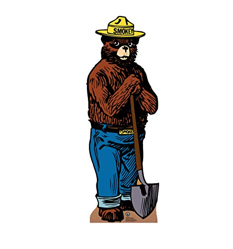 (Advanced Graphics Smokey Bear Life Size Cardboard Cutout Standup - US Forest Service)