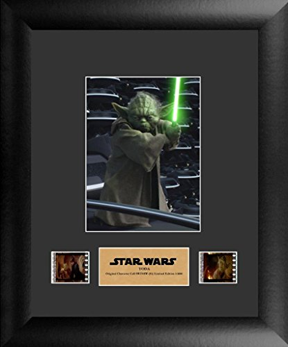 FilmCells Star Wars: Yoda Film Cell Framed Art Display (Limited Edition)