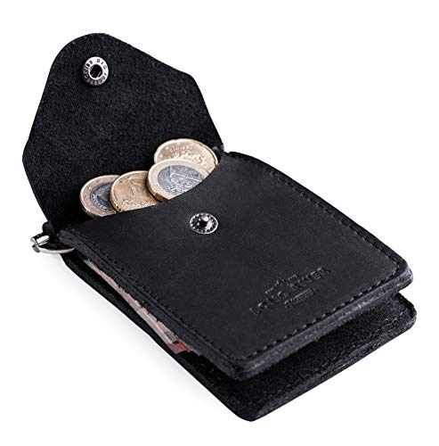 Bifold Money Clip - Slim Front Pocket Genuine Leather Clip Wallet for Men - Handmade