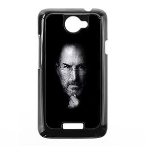 HTC One X Cell Phone Case Black Steve Jobs Face Apple LV7991084