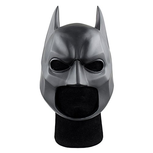 [GshoppingLife Movie Figure The Dark Knight Batman Soft Helmet Cosplay Mask PVC Action Figure Toy Christmas Gift] (Batman Cowl Mask)
