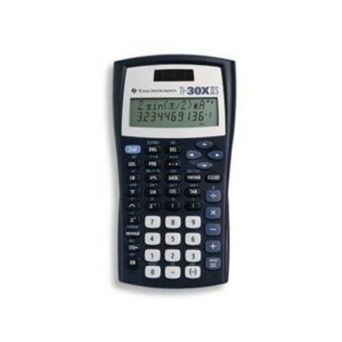 Texas Instruments TI-30X IIS Scientific Calculator - 2 Line(s) - LCD - Solar, Battery Powered (pack of 10) 30XIISTKT1L1B by Texas Instruments
