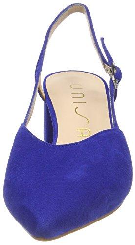Unisa fermé Bleu Femme Bout KS Sandales Jica Sapphire rZUIqr